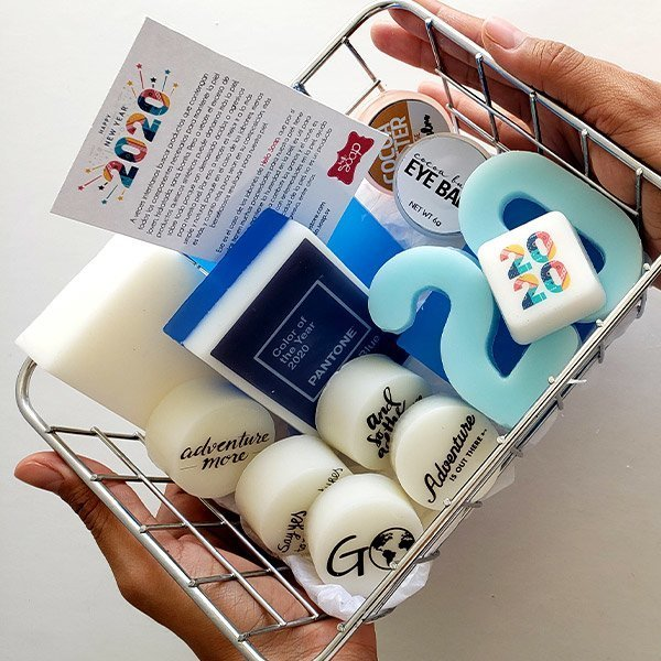 Color of the year box soap